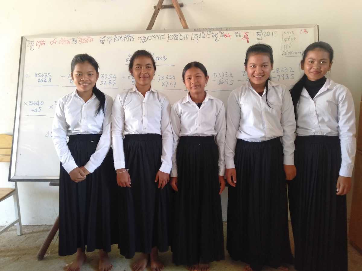 Help these girls be the first in their families to go to High School