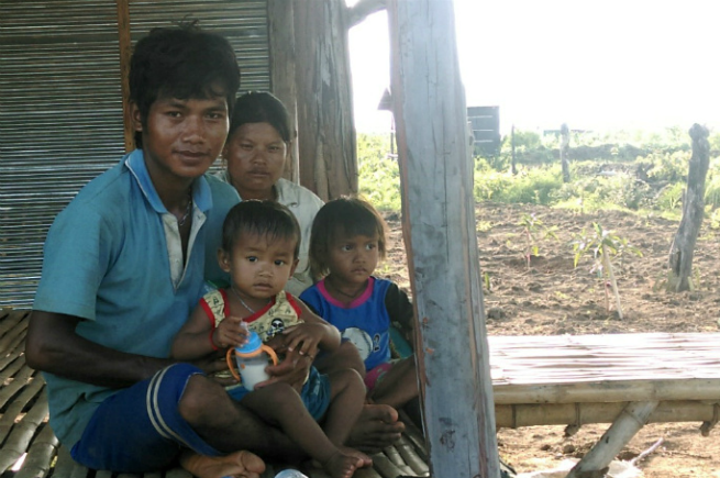 Help us build a well for Vong's village.