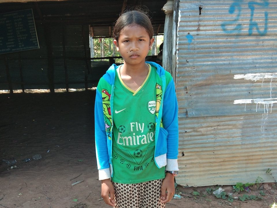 Help Seyha go back to School and get an education